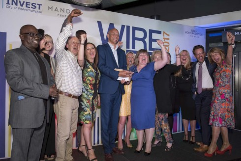 Sparkling Double Win For Rudell The Jewellers at Wolverhampton WIRE Awards