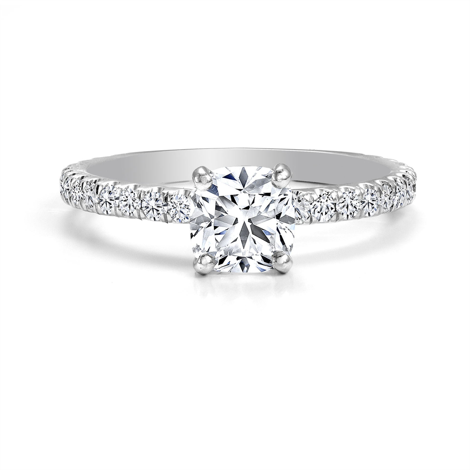 Forevermark Collection 18ct white gold Diamond Ring 0.51ct