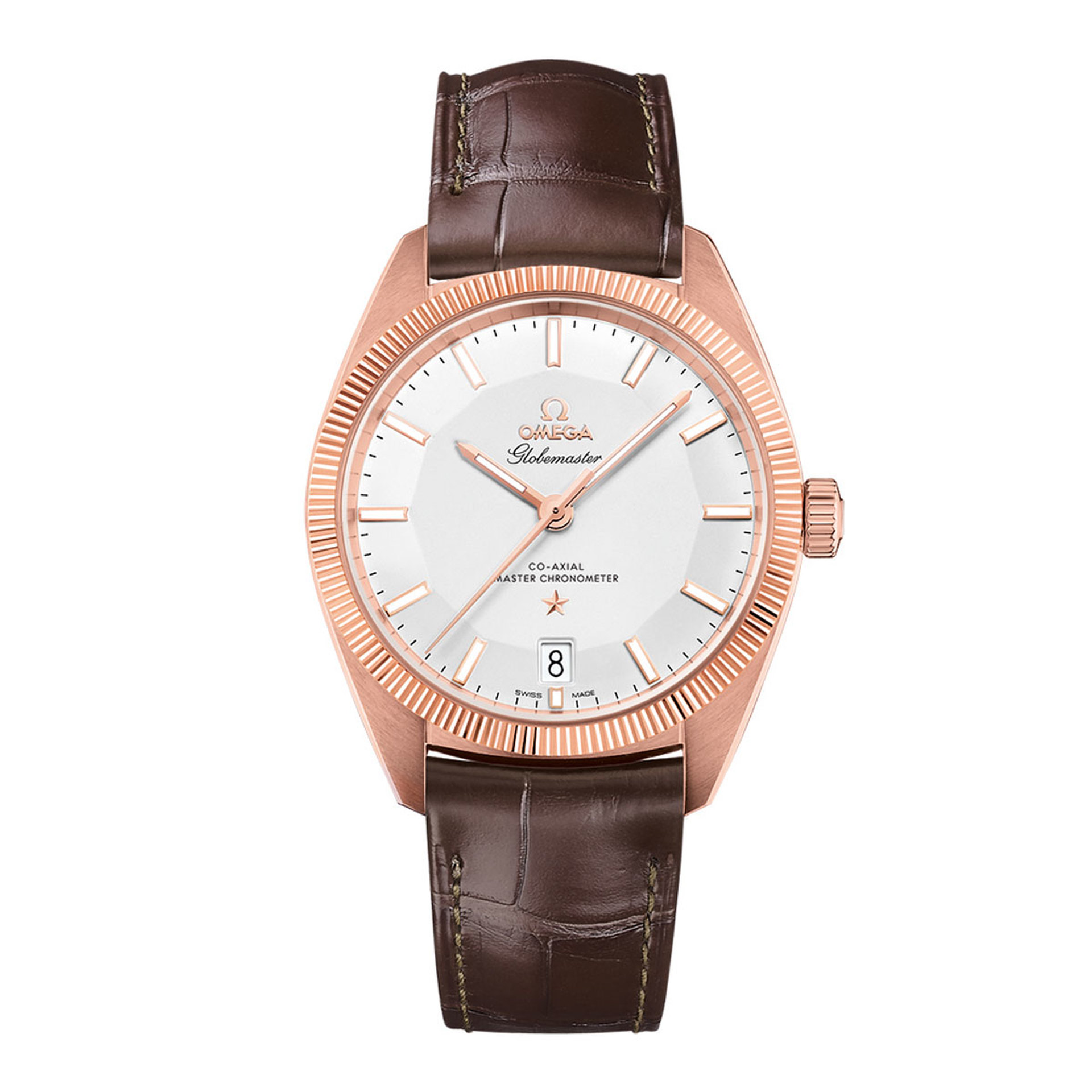 Gents OMEGA Constellation Globemaster Rose Gold Watch