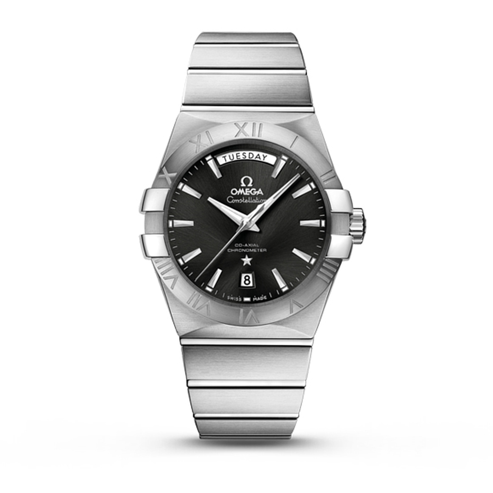OMEGA Constellation Day Date Stainless Steel Automatic Watch