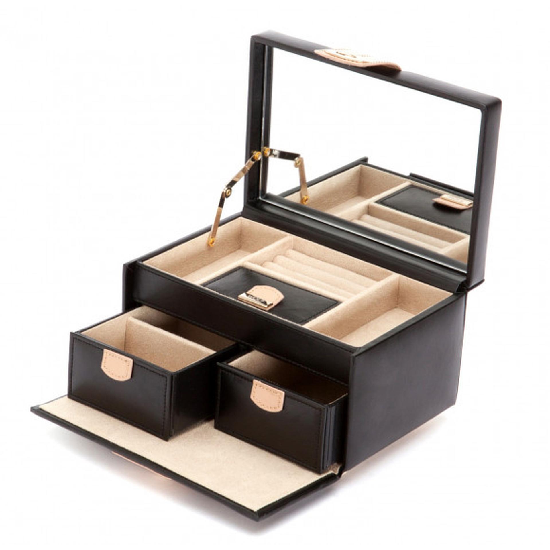 Chloe Black Small Jewellery Box