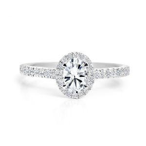 Forevermark 18ct white gold Diamond Ring 0.51ct