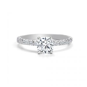 Forevermark white gold and diamond ring