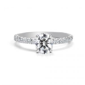 Forevermark 18ct white gold Oval cut Diamond Ring