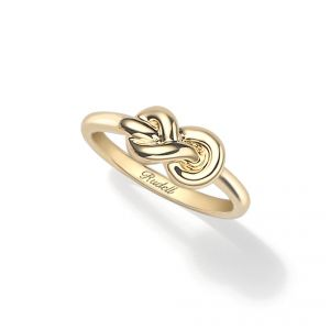 18ct Yellow gold Knot ring - Rudells exclusive ranges