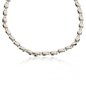 Silver Embrace 2 Necklet - Rudell The Jewellers