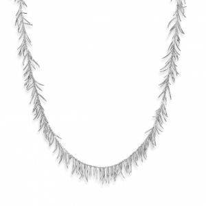 Sterling Silver Rachel Galley Molto Necklace 20 Inch chain