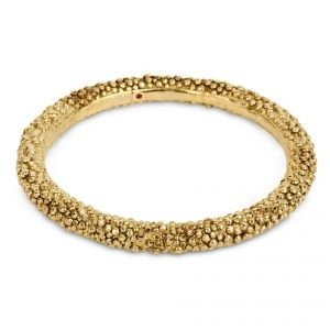 Roberto Coin The Fifth Season Gold Plated Silver Bobble Bangle - Rudell The Jewellers
