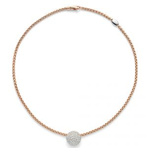 Fope 18ct Rose Gold Eka Tiny Necklet