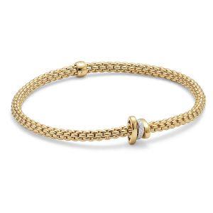 FOPE 18ct Yellow gold Flex it Prima Bracelet
