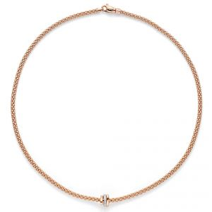 FOPE Necklet 18ct Rose gold Flex it Prima