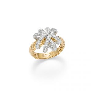 FOPE Ring 18ct Yellow Flex it Solo Venezia