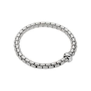 EKA Anniversario 18ct White Gold Bracelet With Diamond Set Rondel