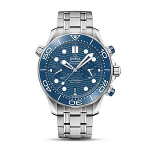 OMEGA Co‑Axial Master Chronometer Chronograph Diver300m