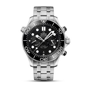 OMEGA Co‑Axial Master Chronometer Chronograph Diver 300m