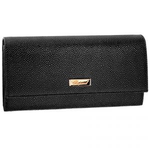 Chopard Black leather Miss Happy Portefeuille wallet