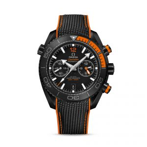 Gents Omega SeaMaster Planet Ocean 600m Chronograph Deep Black 45.5mm