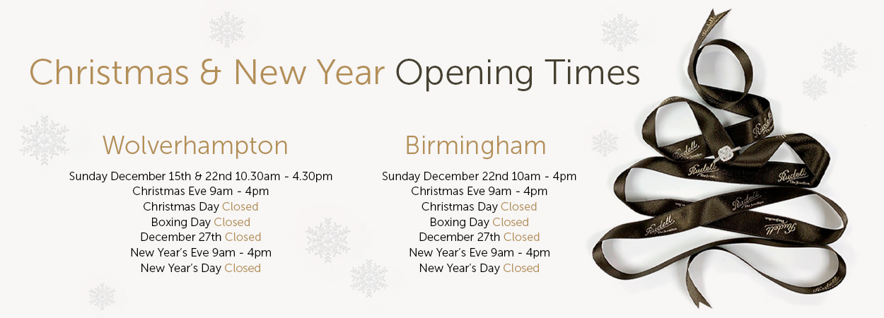 Rudell Christmas Opening Times
