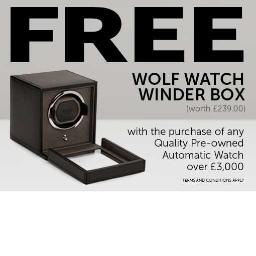 FREE Wolf Winder Box