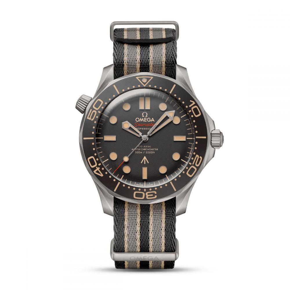 omega seamaster diver 300m titanium 007 edition