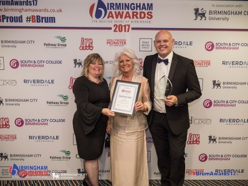 A Dazzling Win as Rudell the Jewellers Named Birmingham's Independent Retailer of the Year