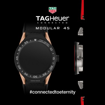 TAG Heuer unveils second generation Connected Modular 45 Watch