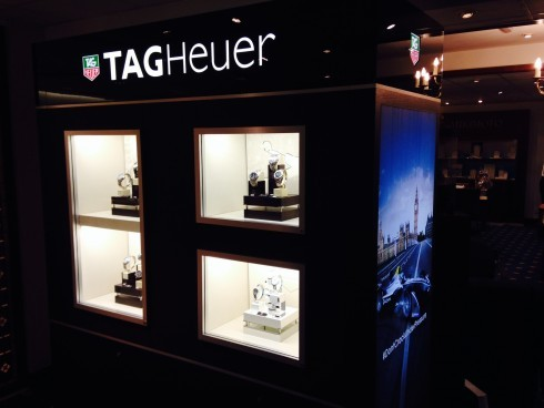 Brand New TAG Heuer Installation at Rudells Harborne
