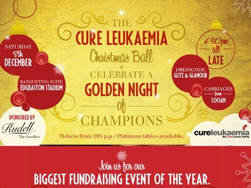 Cure Leukaemia's annual Christmas Ball