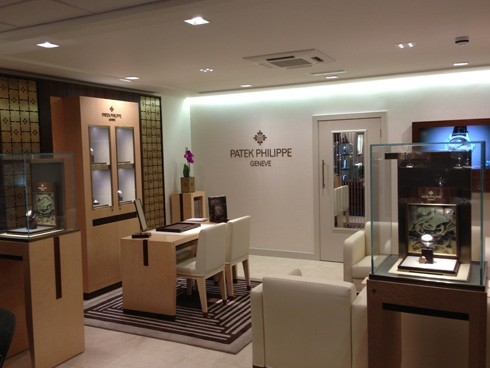 Rudells Birmingham Showroom presents the new Patek Philippe in-house area