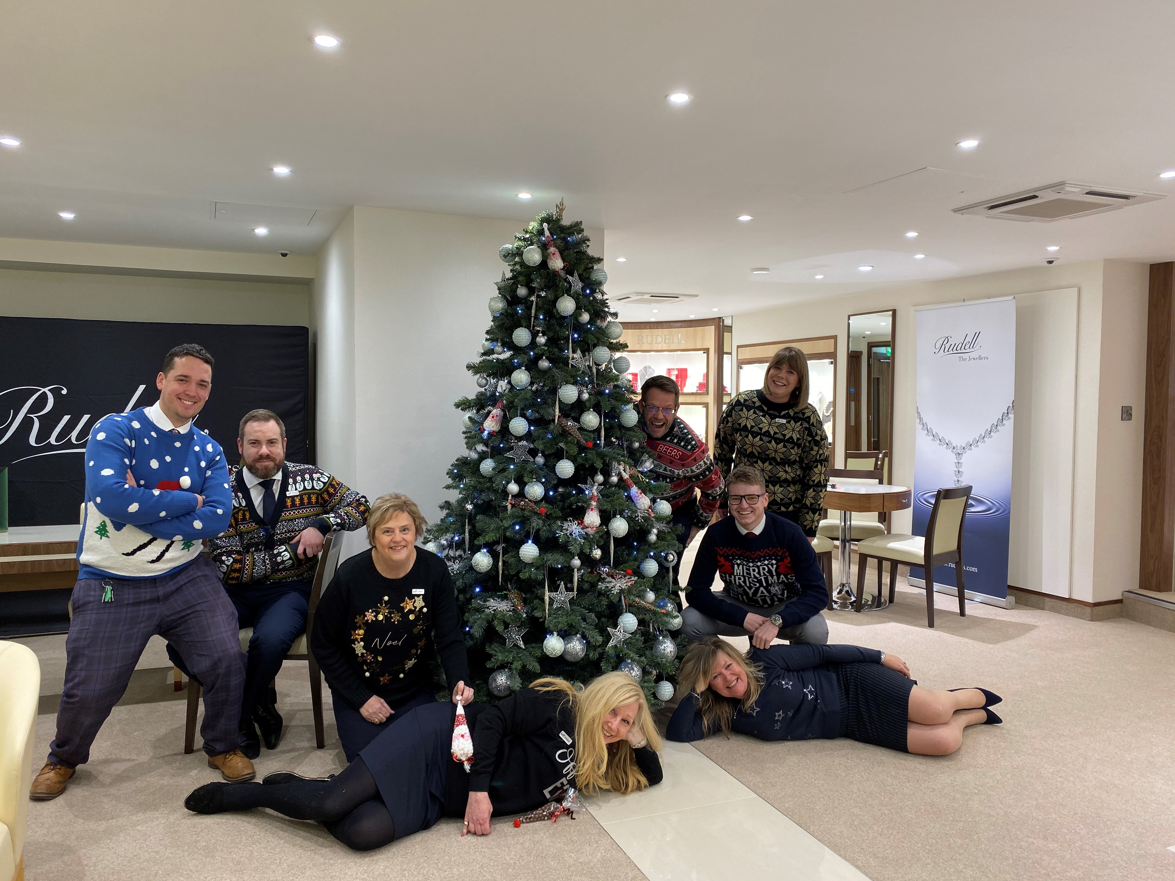 Christmas Jumper Day in Aid of Compton Care