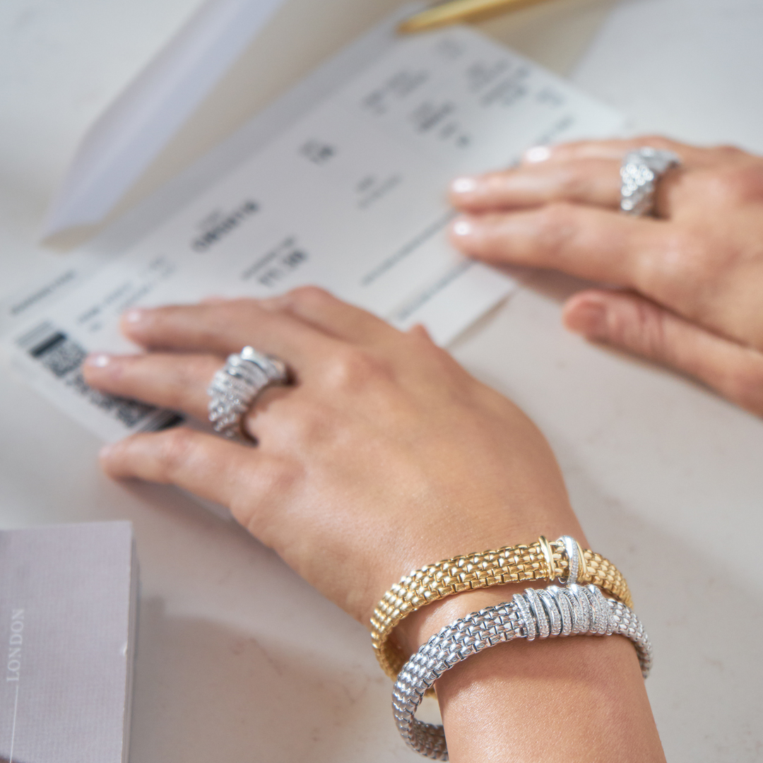 Lady's hand with FOPE Jewellery